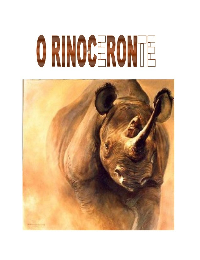 CAPÍTULO I  A ARTE DE ATACAR  Naturalmente, o segredo do sucesso é tornar-se um rinoceronte. Na  verdade meu desejo é que,...
