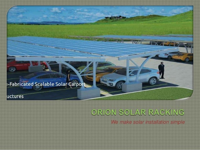We make solar installation simple