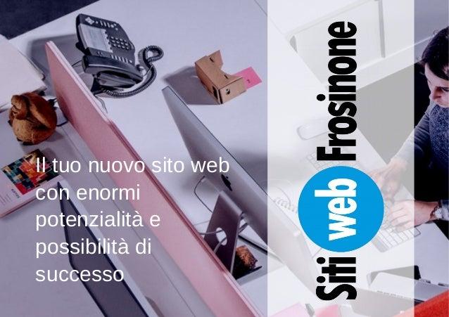 Sitiweb Frosinone - Un mondo di possibilità