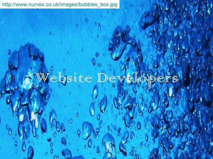 Website Developers . http://www.nurvex.co.uk/images/bubbles_box.jpg