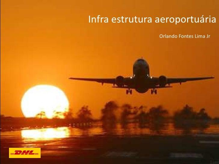 Infra estrutura aeroportuária                Orlando Fontes Lima Jr
