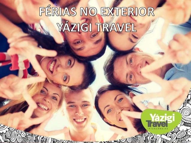 Quem somos?  A agência de intercâmbio responsável pela área internacional da marca Yázigi;  São 64 anos de experiência n...