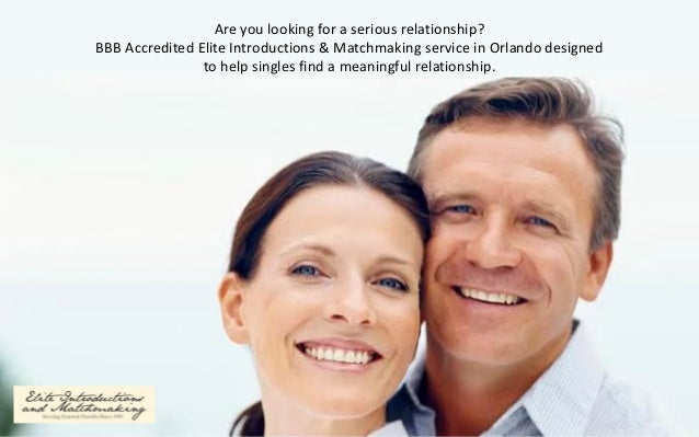 orlando matchmaking service What makes elite introductions and matchmaking so successful they are the best orlando matchmaking service because of the exclusive,.