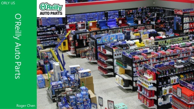 O'ReillyAutoParts ORLY US 1 Roger Chen