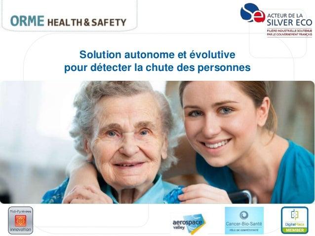 Solution autonome et évolutive pour détecter la chute des personnes