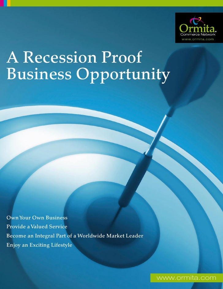 A Recession Proof Business Opportunity     Own Your Own Business Provide a Valued Service Become an Integral Part of a Wor...