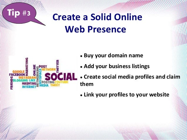 Develop & Distribute Great Content ● Use keyword optimized content on your website ● Make catchy titles and headings ● Add...