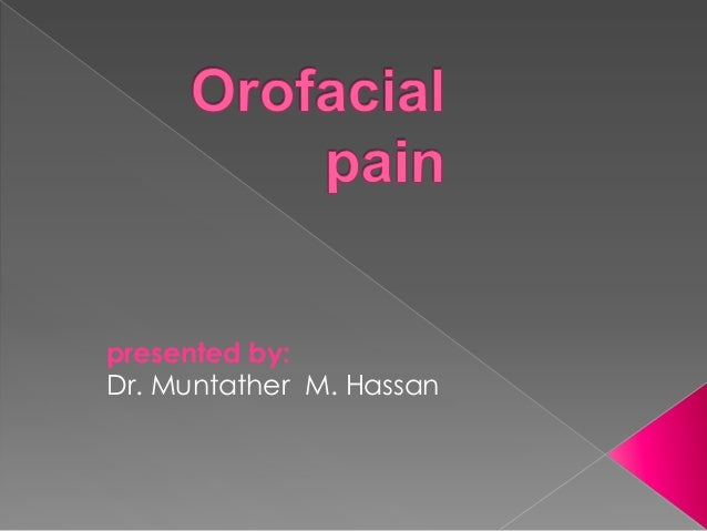 presented by: Dr. Muntather M. Hassan