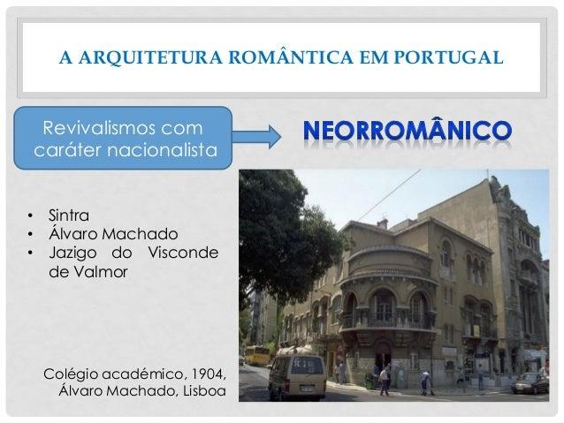 A ARQUITETURA ROMÂNTICA EM PORTUGAL • Sintra • Álvaro Machado • Jazigo do Visconde de Valmor Revivalismos com caráter naci...