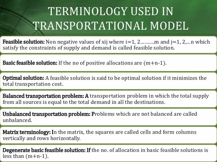 research papers transportation problems Research paper on transportation problem solving creative writing my favourite cartoon character doraemon.
