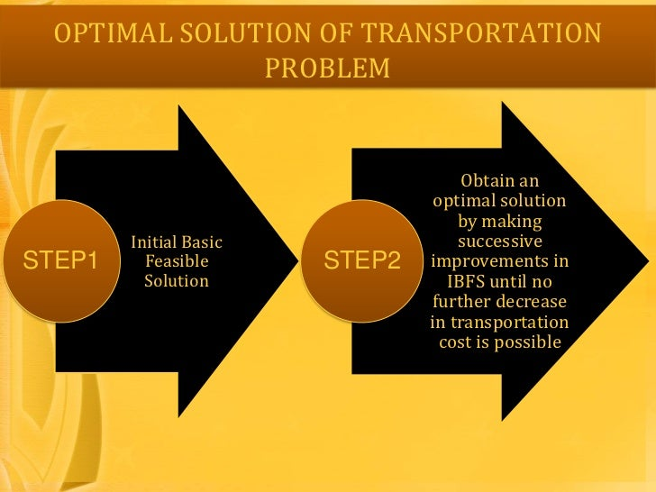 transportation problem research paper Transportation problem: a special case for linear programming problems j reeb and s leavengood em 8779 • june 2002 $350 james e reeb, extension.