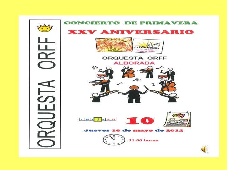 Orquesta orff