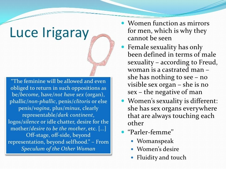 Irigaray sexual difference theory