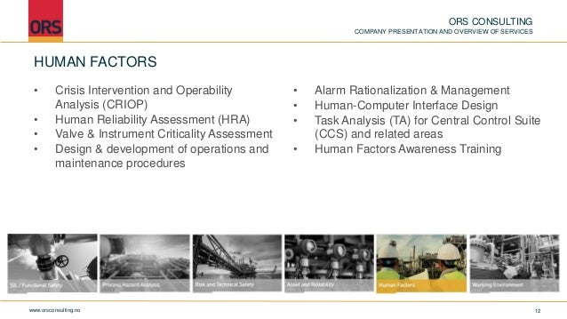 Ors Consulting Overview Of Services