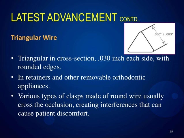 Orthodontic archwires