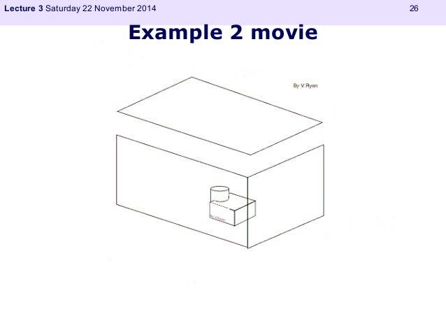 Lecture 3 Saturday 22 November 2014 26  Example 2 movie
