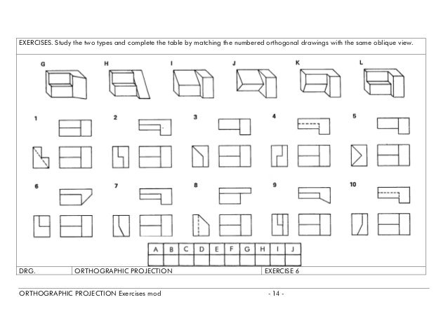 all worksheets orthographic projection worksheets printable worksheets guide for children. Black Bedroom Furniture Sets. Home Design Ideas