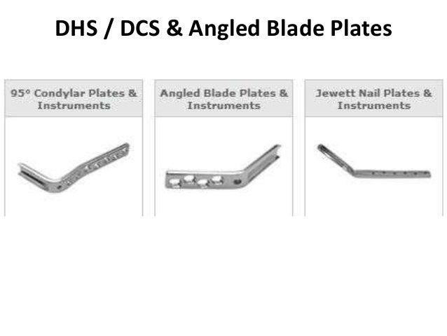 DHS / DCS & Angled Blade Plates