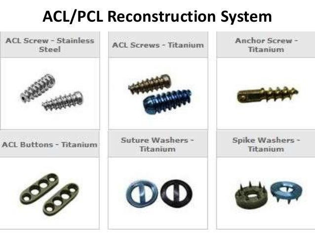 ACL/PCL Reconstruction System