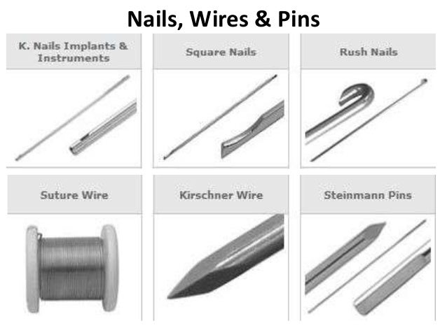 Nails, Wires & Pins