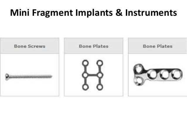 Mini Fragment Implants & Instruments