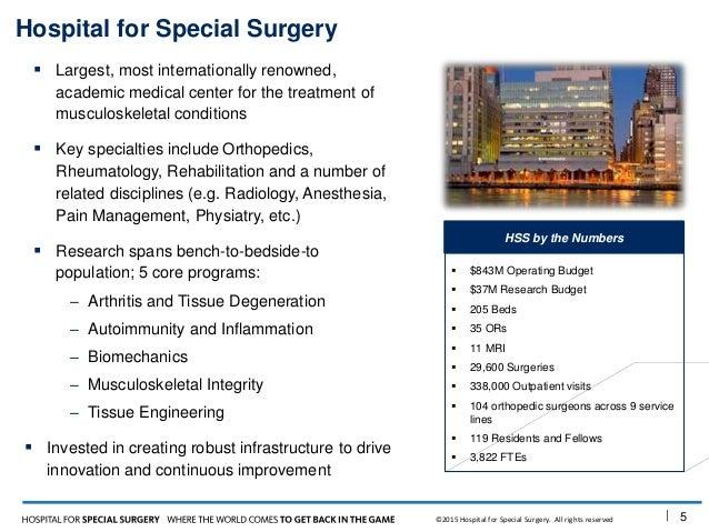 Building an Orthopedic Innovation Engine
