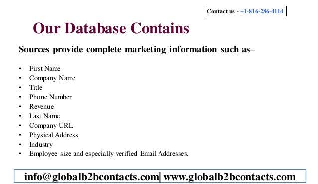Orthopedic Physician Mailing List Slide 3