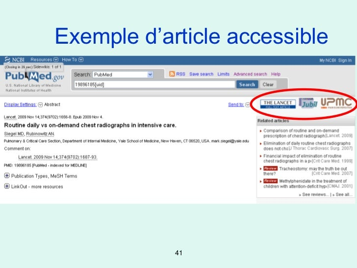 Exemple d'article accessible            41