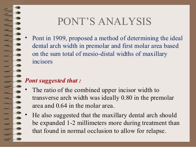 Orthodontic Study Model Analysis