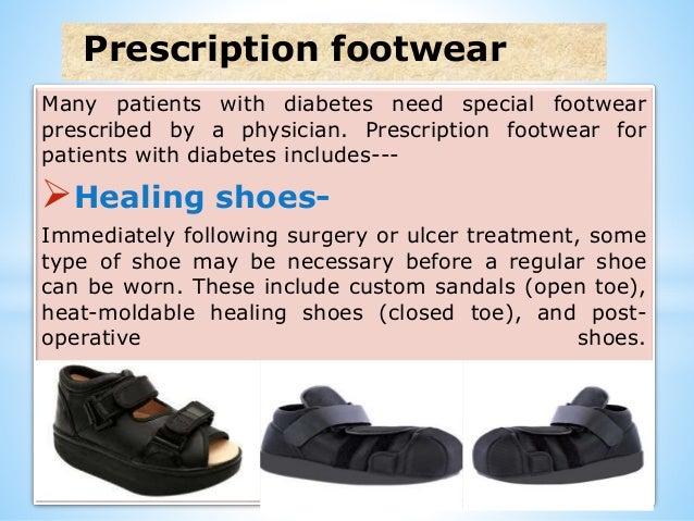 Orthotic Management Of Diabetes Mellitus Foot