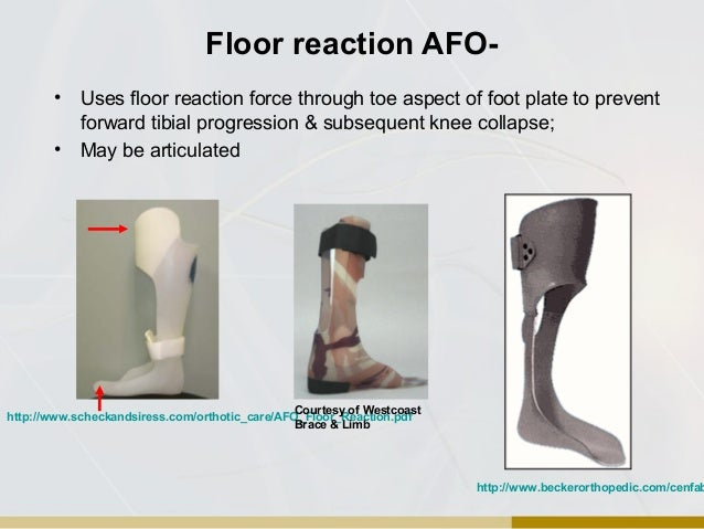 Floor reaction afo meze blog for Floor reaction orthosis