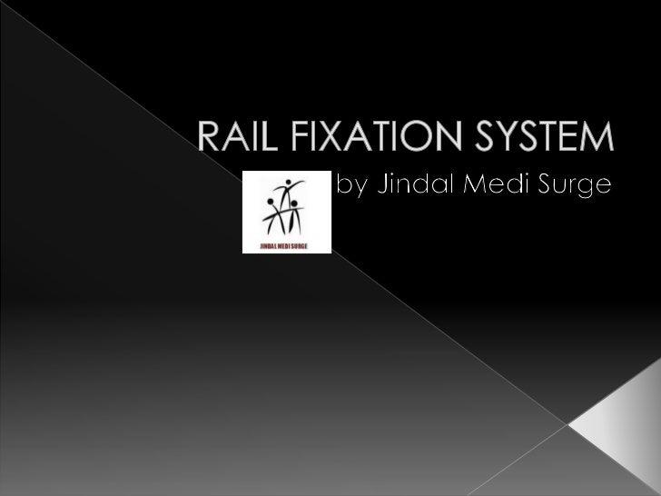 Orthopedic Rail External Fixator