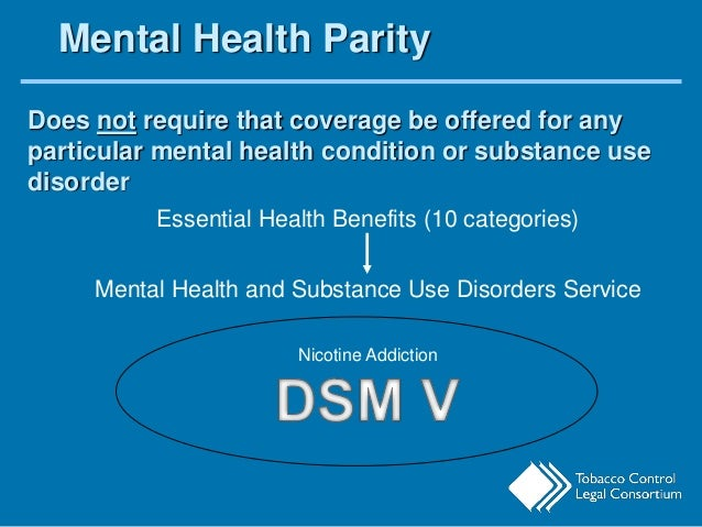mental health parity act essay The paul wellstone and pete domenici mental health parity and addiction  equity act of 2008 (mhpaea) is a federal law that generally prevents group  health.