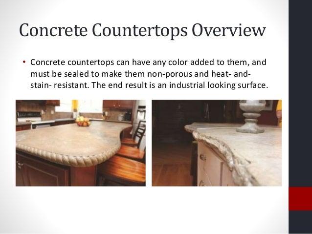 Concrete Countertops ...