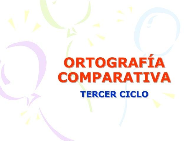Ortograf U00eda Primaria Tercer Ciclo