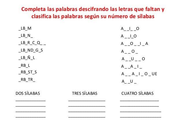 Ortografía Palabras Que Se Escriben Con B Al Y Ar