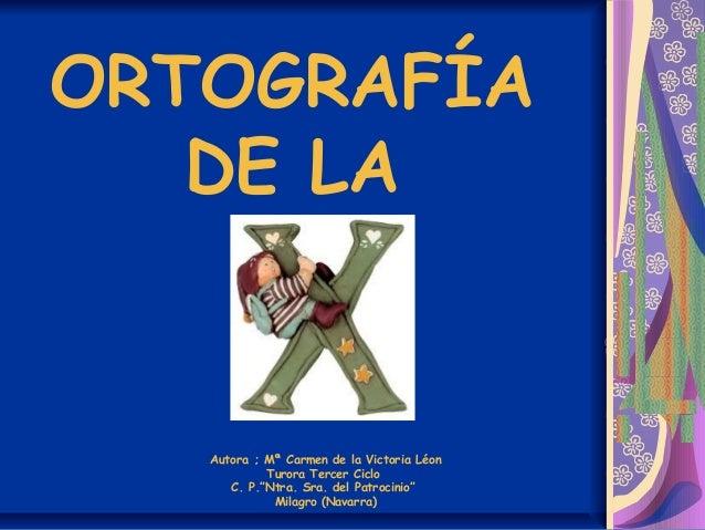 Ortograf U00cda X