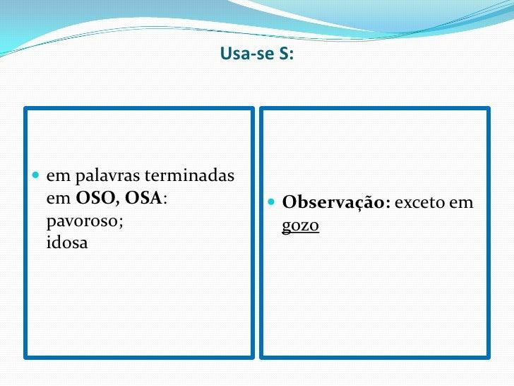 Super Ortografia – Uso De S TK77