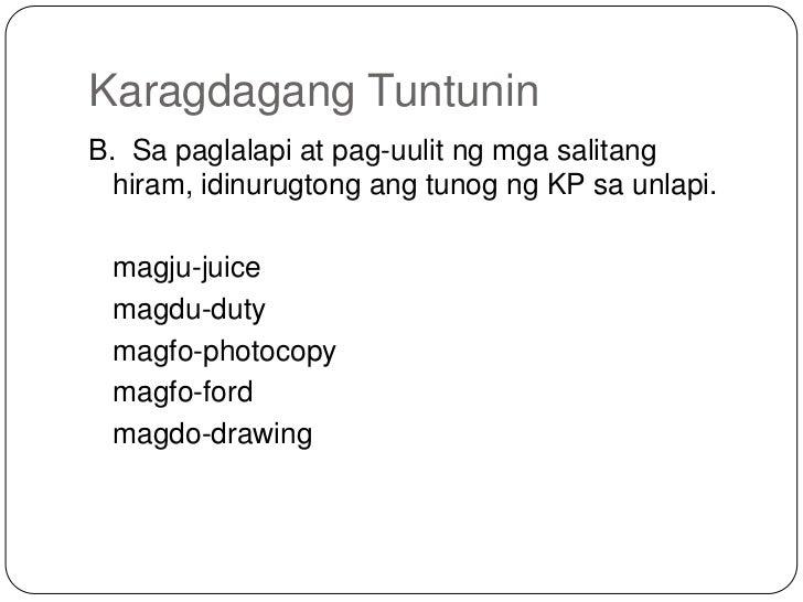 hiram na salita 2may mga matatagal na salita na ginagamit na natin at tinatanggap ang mga salitang ipinanumbas dito sa mga salitang hiram na karaniwan'y sa ingles.