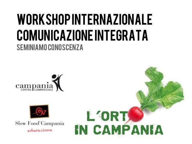 workshop internazionalecomunicazione integrataseminiamo conoscenza