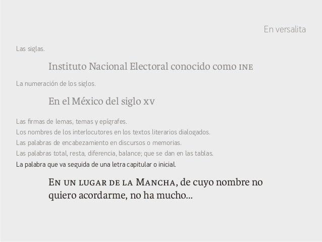 Instituto Nacional Electoral conocido como ine En el México del siglo xv En un lugar de la Mancha, de cuyo nombre no quier...