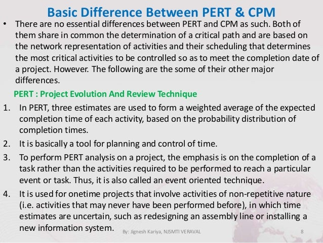 which is better pert or cpm The solution briefly discusses project scheduling tools, pert, cpm, and gantt charts it showed that projects could have been managed well if these tools were used.