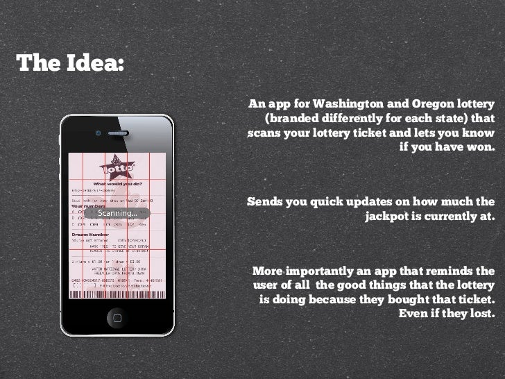Oregon & Washington lottery app