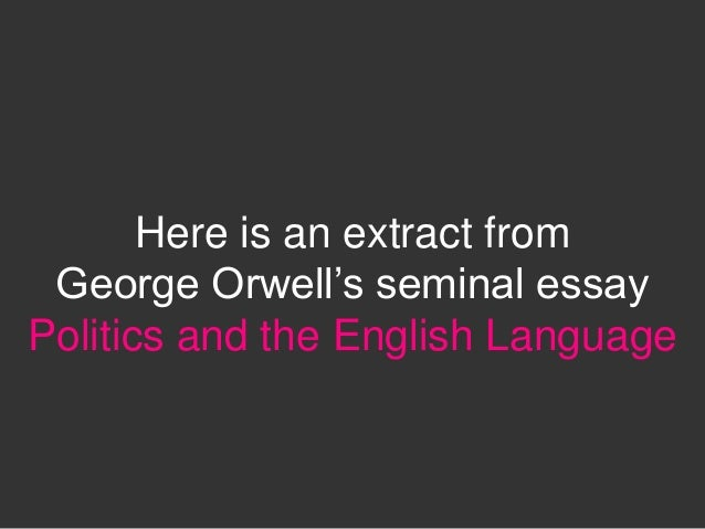 political musings in the works of george orwell I don't think the theory works the whole point of controlling the population is to have everyone the same as in orwell's '1984.