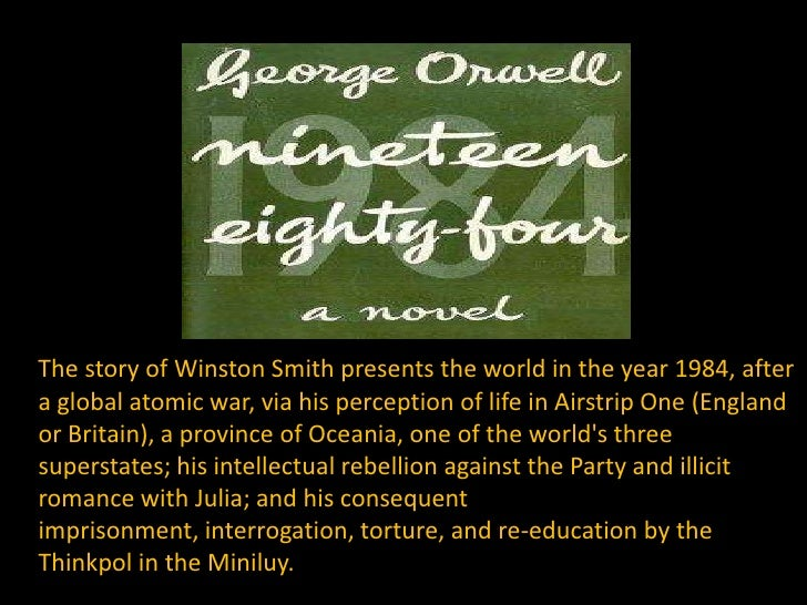 1984 by george orwell oceania a In george orwell's book 1984, winston (the main character) gets a hold of a diary in oceania (where he lives), they are constantly being watched and listened to by.