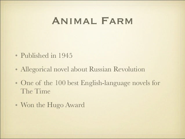 an interpretation of the political satire in george orwells booksanimal farm and 1984 George orwell 1984 farm and 1984 the great successes they were as the best background we have for the interpretation of that great political satire.