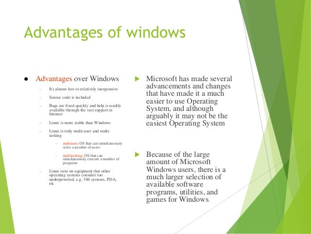 a study on linux and windows nt operating systems Most operating systems can be grouped into two different families aside from microsoft's windows nt-based operating systems, nearly everything else traces its heritage back to unix linux, mac os x, android, ios, chrome os, orbis os used on the playstation 4, whatever firmware is running on your.