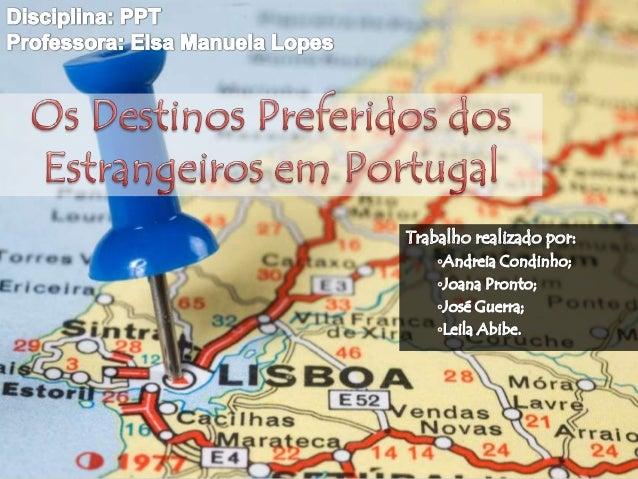 """Porquê que os Estrangeiros escolhem Portugal como destino de férias?  Portugal é descrito como """"um dos diamantes em bruto..."""