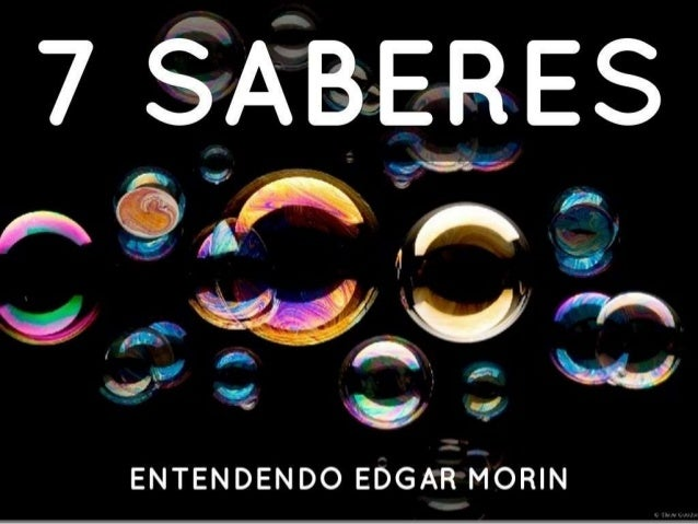 ~, _ _. . . .gn  ENTENDEN DO EDGAR MORIN