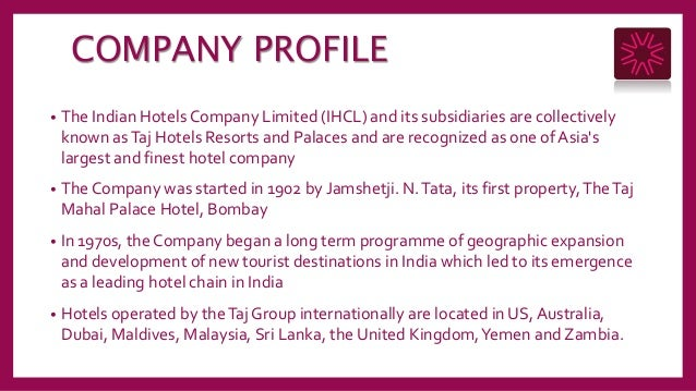 weakness of taj group of hotels List of taj group of hotels new delhi is a perfect embodiment of all qualities synonymous with the quality of taj hotels, resorts & palaces standing apart in service, its facilities and of course, in its distinguished.